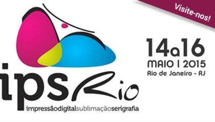 VP Máquinas na IPS Rio 2015 – Impressão Digital, Sublimação e Serigrafia