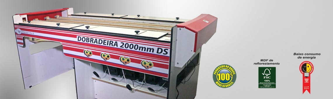 Máquinas Dobradeiras para Dobras Simultâneas de Acrílico e Termoplásticos